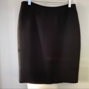 Jones New York black pencil skirt